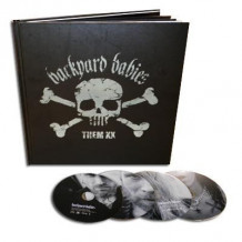 Backyard babies - Them XX: 20th Anniversary Box (Bok+3CD+DVD) av Peder Carlsson og Mikael Eriksson (Innbundet)