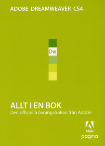 Allt i en bok Dreamweaver CS4 av ADOBE Creative Team (Heftet)
