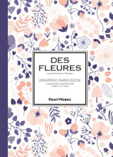 Omslag - Des Fleures. Wrapping paper book