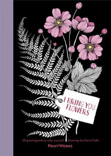 I Bring You Flowers : 20 Greeting Cards to Color av Maria Trolle (Heftet)