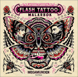 Omslag - Flash Tattoo målarbok
