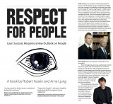 Omslag - Respect for people : Lean success requires a new outlook on people