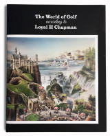 Omslag - The world of golf according to Loyal H Chapman