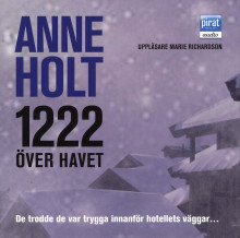 1222 över havet av Anne Holt (Lydbok-CD)