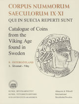 Corpus Nummorum, 8. Östergötland 1 : Catalogue of Coins from the Viking Age found in Sweden av Brita Malmer (Heftet)