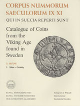 Corpus Nummorum, 3. Skåne 1 : Catalogue of Coins from the Viking Age found in Sweden av Brita Malmer (Heftet)