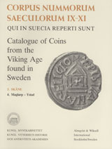 Corpus Nummorum, 3. Skåne 4 : Catalogue of Coins from the Viking Age found in Sweden av Brita Malmer og Lars O. Lagerqvist (Heftet)