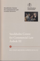 Stockholm Centre for Commercial Law årsbok. 3 av Philip Mielnicki, Mårten Schultz, Ulf Bernitz, Lars Gorton, Torkel Gregow, Lars Heuman, Tobias Johansson, Jan Kleineman, Fredric Korling, Gertrud Lennander, Lennart Lynge Andersen, Göran Millqvist, Jori Munukka, Marcus Radetzki, Teresa Simon-Almendal, Gustaf Sjöberg, Jessika van der Sluijs, Rolf Åbjörnsson og Sören Öman (Heftet)