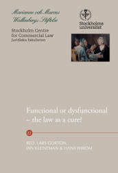 Functional or dysfunctional : the law as a cure? av Kern Alexander, William Blair, Jr. Coffee, Ross Cranston, Michael D. Green, Brigitte Haar, Jesper Lau Hansen, Klaus J. Hopt, Angela Itzikowitz, Erica Johansson, Brandon Jones, Eiríkur Jónsson, Rowan Russell og Philip R Wood (Heftet)