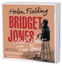Bridget Jones : mad about the boy av Helen Fielding (Lydbok-CD)