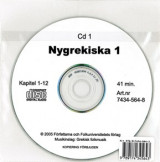 Omslag - Nygrekiska 1 cd audio