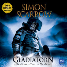 Gladiatorn av Simon Scarrow (Lydbok-CD)