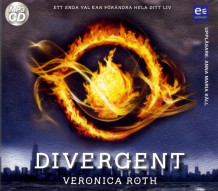 Divergent av Veronica Roth (Lydbok MP3-CD)