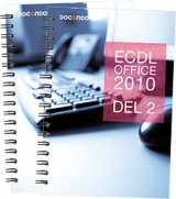Omslag - ECDL med Office 2010 (Windows 8, Access)