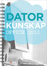 Omslag - Datorkunskap Office 2013