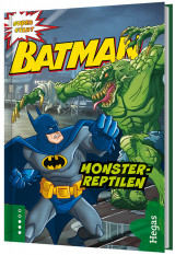 Omslag - Batman. Monster-reptilen (BOK+CD)