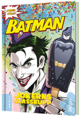 Omslag - Batman. Jokerns glasskupp (Bok+CD)
