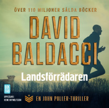 Landsförrädaren av David Baldacci (Lydbok MP3-CD)