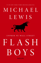 Omslag - Flash Boys : Uppror på Wall Street