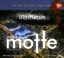 UltiMatum av Anders De la Motte (Lydbok MP3-CD)