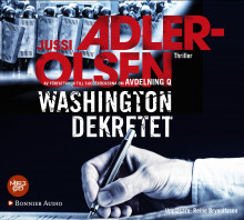 Washingtondekretet av Jussi Adler-Olsen (Lydbok MP3-CD)
