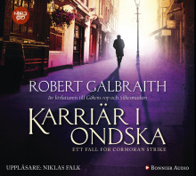 Karriär i ondska av Robert Galbraith (Lydbok MP3-CD)