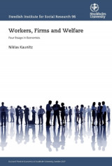 Omslag - Workers, Firms and Welfare : Four Essays in Economics