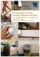 Omslag - Servicescapes seen by visually impaired travellers