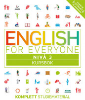 English for everyone Nivå 3 Kursbok av Gill Johnson (Heftet)