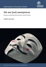Omslag - We are (not) anonymous : Essays on anonymity, discrimination and online hate