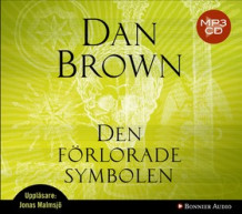 Den förlorade symbolen av Dan Brown (Lydbok MP3-CD)