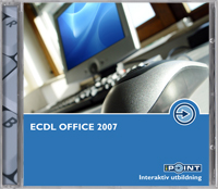 ECDL Office 2007 med Windows Vista av Malina Andrén (DVD-ROM)