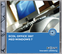 ECDL Office 2007 med Windows 7 av Malina Andrén (DVD-ROM)