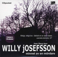 Minnet av en mördare av Willy Josefsson (Lydbok MP3-CD)