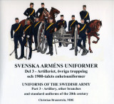 Omslag - Svenska arméns uniformer. D.3, Artilleriet = Uniforms of the swedish army. P.3, The Artillery
