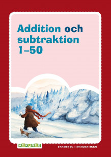 Addition och subtraktion 1-50 av Mirvi Unge Thorsén (Heftet)