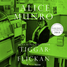 Tiggarflickan av Alice Munro (Lydbok MP3-CD)