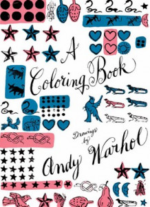 A coloring book : drawings by Andy Warhol (Innbundet)