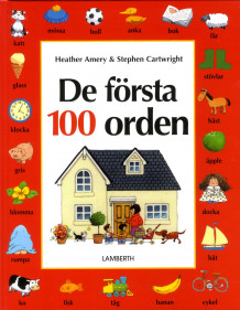 De första 100 orden av Heather Amery og Stephen Cartwright (Innbundet)