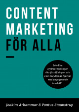 Omslag - Content Marketing för alla