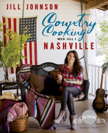 Country cooking : med Jill i Nashville av Jill Johnson og Mia Gahne (Innbundet)