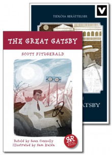 The Great Gatsby / Den store Gatsby av F. Scott Fitzgerald (Innbundet)