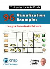 Omslag - Toolbox for the agile coach : 96 visualization examples - how great teams visualize their work