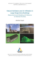 Omslag - Natural ventilation and air infiltration in large single zone buildings : measurements and modelling with reference to historical churces