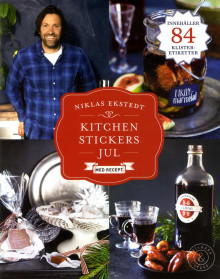 Kitchen Stickers Jul med recept av Niklas Ekstedt (Heftet)