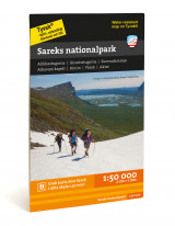 Omslag - Sareks nationalpark 1:50.000