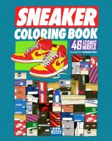 Omslag - Sneaker Coloring Book