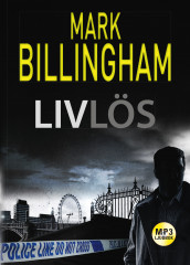 Livlös av Mark Billingham (Lydbok MP3-CD)