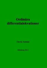 Omslag - Ordinära differentialekvationer