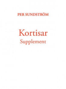 Kortisar Supplement av Per Sundström (Heftet)